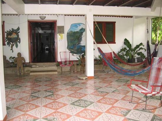 Hotel La Cascada: Main lobby
