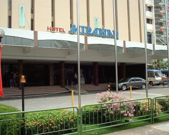 Hotel Miramar: Hotel front!