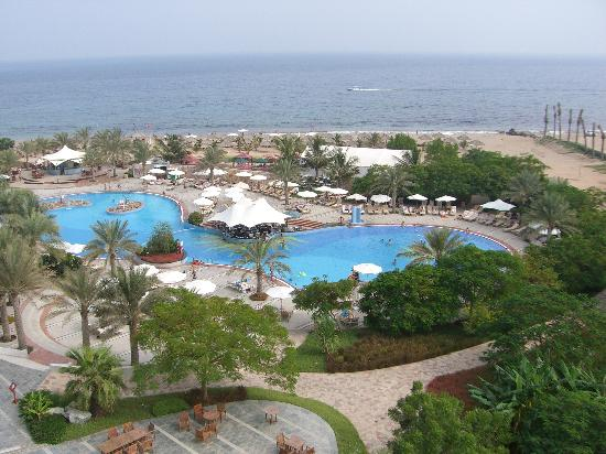 Le Meridien Al Aqah Beach Resort: View from our room
