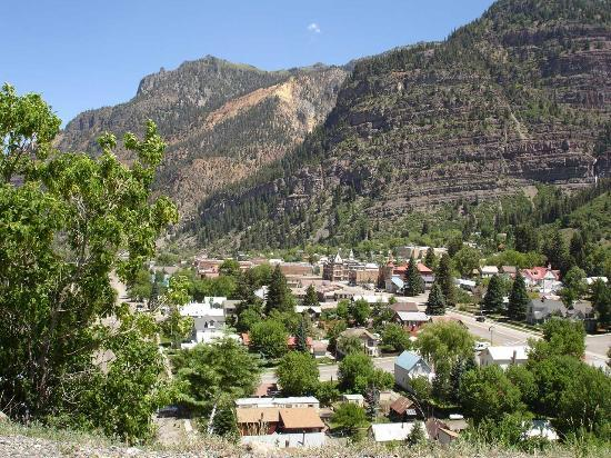 ‪‪Ouray‬, ‪Colorado‬: Descent into Ouray‬