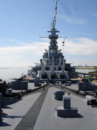 Mobile, AL: Deck of the USS Alabama