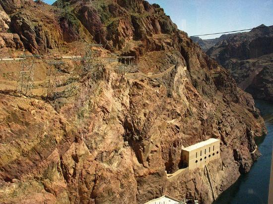 Boulder City, NV: Hoover Dam top floor