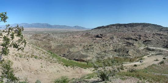 Borrego Springs desert hike