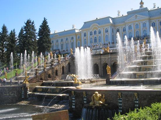 St. Petersburg, Russia: Peterhof, the Great Palace