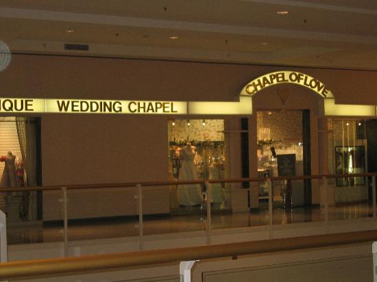 Mall Of America Wedding Chapel
