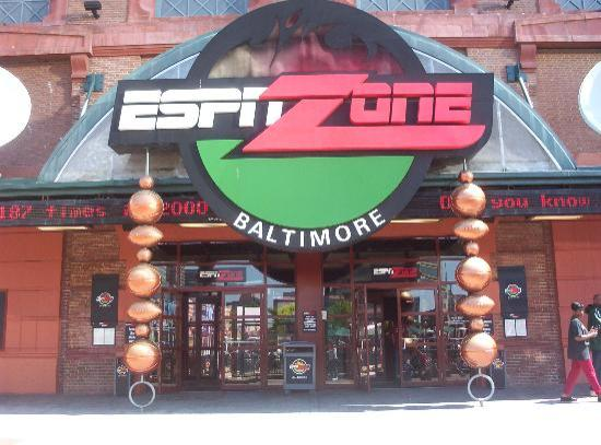 Baltimore, MD : espn zone- yummy