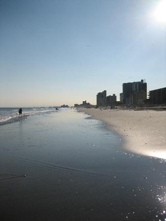 North Myrtle Beach, Carolina Selatan: beach 1
