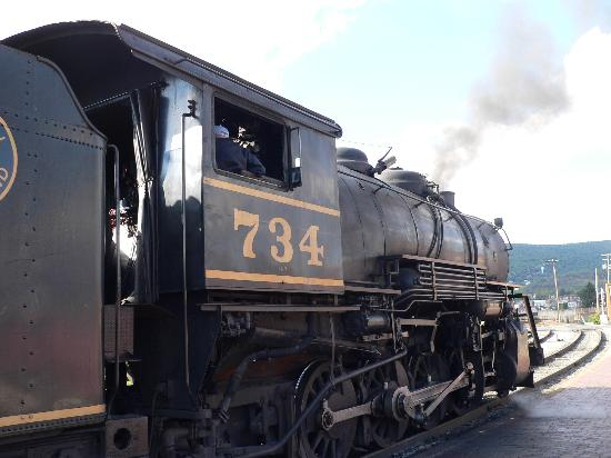 Western Maryland Scenic Railroad: Engine