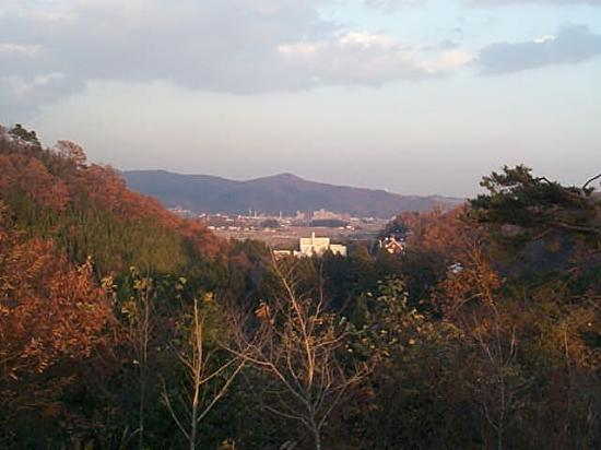 Sendai, Japan: Looking towards Ayashi and Ochiai