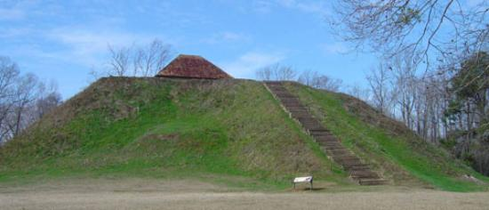 Moundville, AL: What an amazing place to visit!  These mounds are wild!