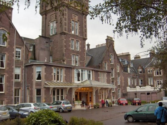 Crieff Hydro Hotel and Resort: The front entrance