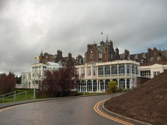 Crieff Hydro Hotel and Resort: The back of the hotel