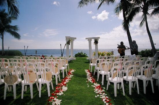 Paradise Cove Luau Wedding