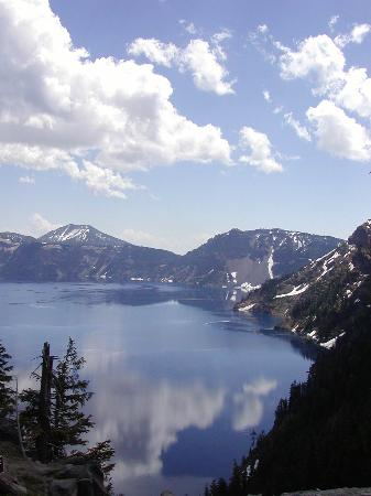 Crater Lake Nationalpark Foto