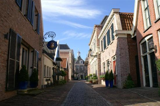 Overijssel Province, Nederland: One of many such streets