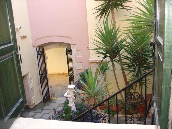 Casa Leone Boutique Hotel: view from our 2 level suite