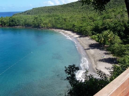 Anse Cochon, St. Lucia: the beach!