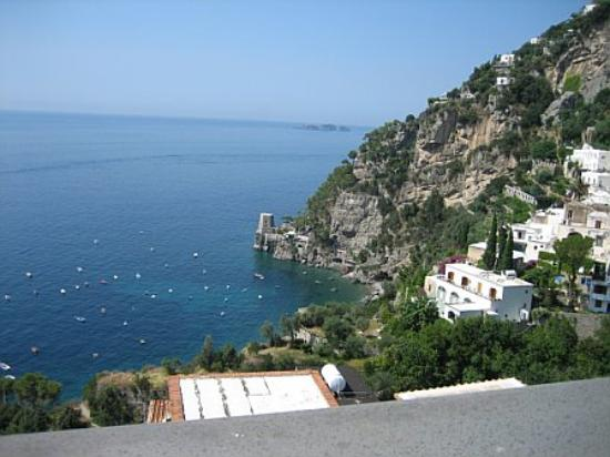 Albergo Punta Regina: the sea view from our terrace