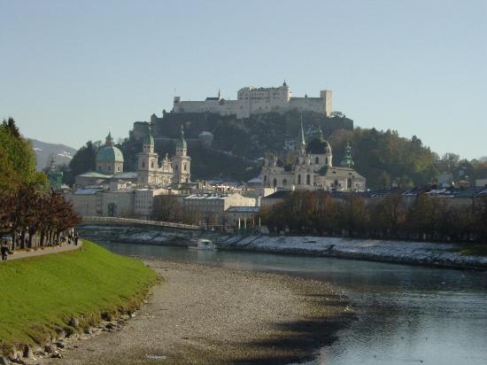 Salzburg-fæstningen (Festung Hohensalzburg)