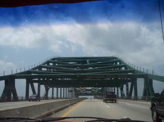 The Piscataqua River Bridge (Maine Border)