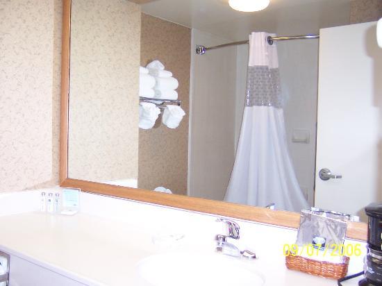 Hampton Inn Havelock Cool Shower Curtain