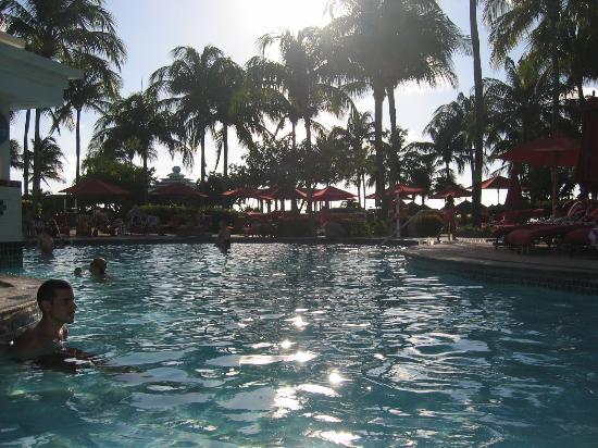 Aruba Marriott Resort & Stellaris Casino: Marriott pool