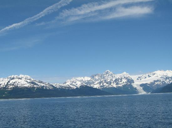 Whittier, Αλάσκα: Montain view from the cruise