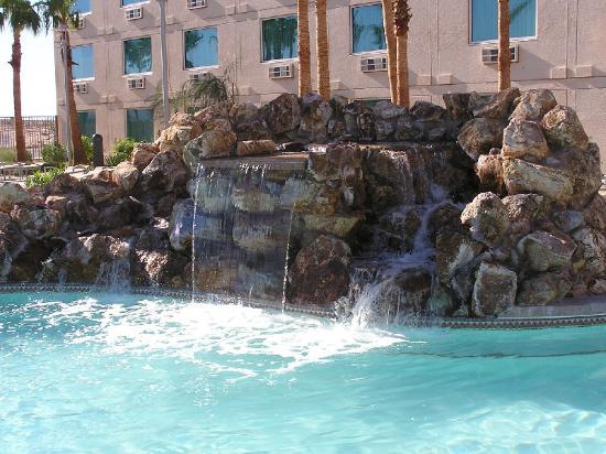 Avi Resort Pool Waterfalls