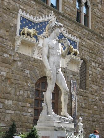 Lombardi Hotel: Statue of David
