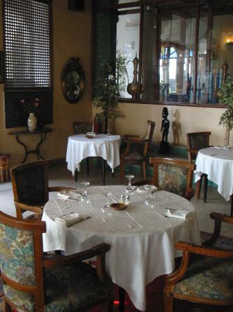 Hotel de la Menara: Restaurant area