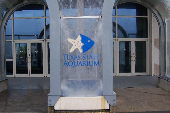 Texas State Aquarium: Entrance