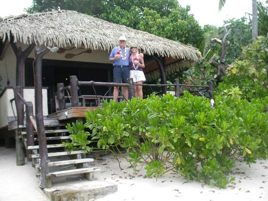 Pacific Resort Aitutaki: Beach bungalow