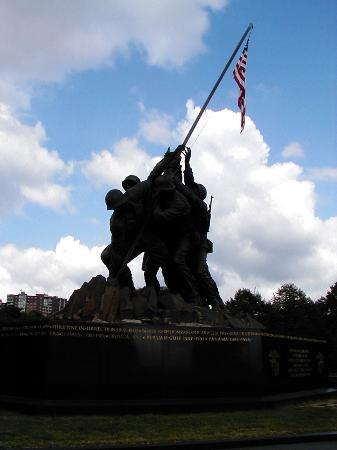 Washington DC, Columbia: Iwo Jima Memorial