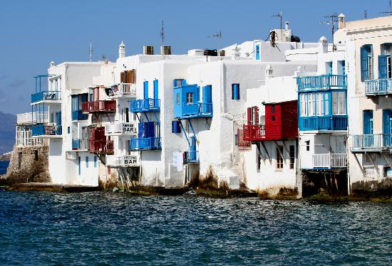 Mykonos Town, Greece: Little Venice