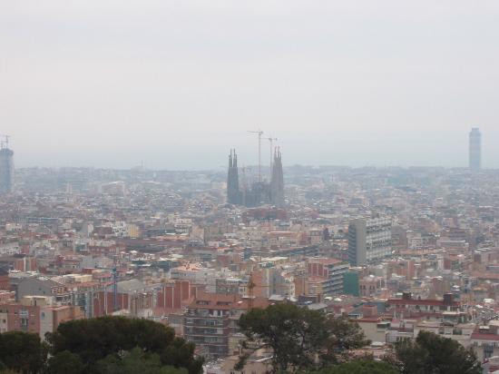 Catedral de Barcelona : Aeiral View