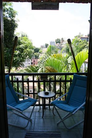 Trip Hostel: one of the balconies