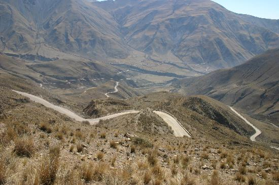 Provincia de Salta, Argentina: a very long and winding road