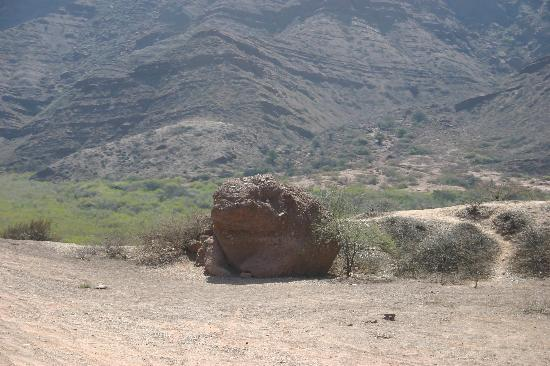 Provincia de Salta, Argentina: Toad Rock