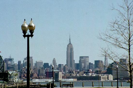 Liberty State Park: NYC skyline