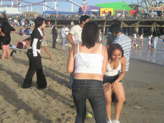 Santa Monica, Californië: fun times