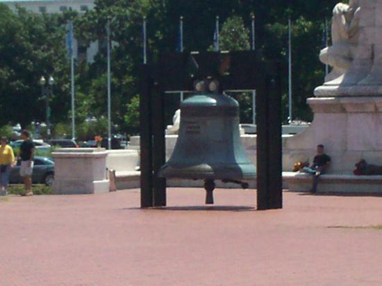 Replica of the Liberty Bell at Union Station