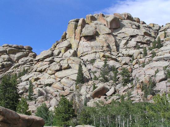 Vedauwoo: Granite Formation