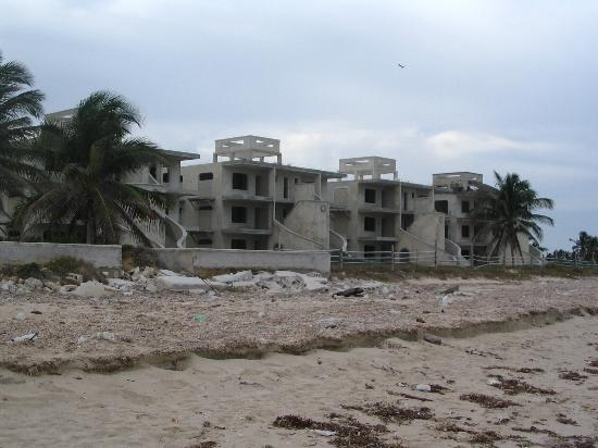 Hotel Reef Yucatan All Inclusive Convention Center Abandoned Resort Right Beside