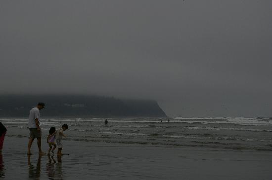 Seaside, OR: beach
