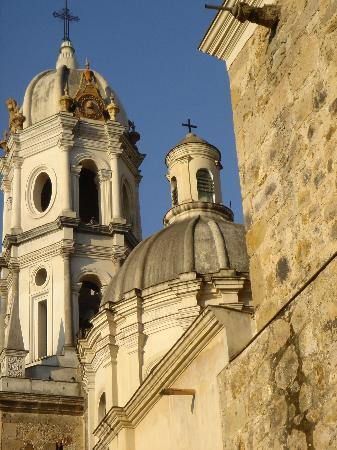 Guadalajara, Mexico: One of the many churches....