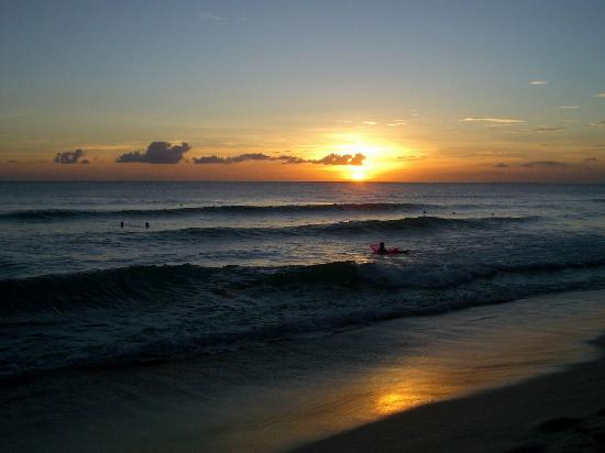 Iberostar Hacienda Dominicus: puesta de sol