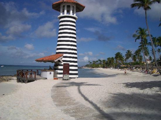 Iberostar Hacienda Dominicus: bar de la playa