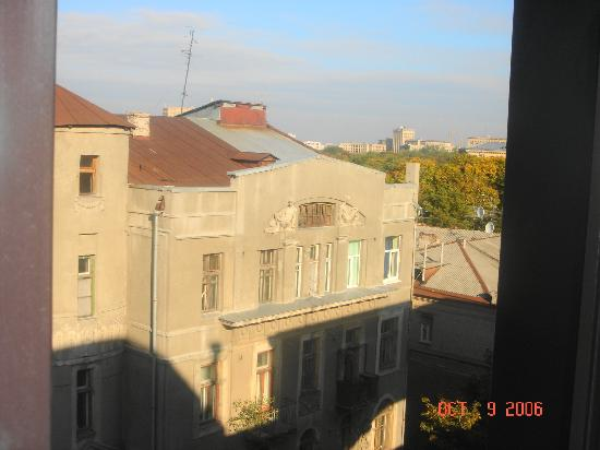 Chichikov Hotel: View from the room window