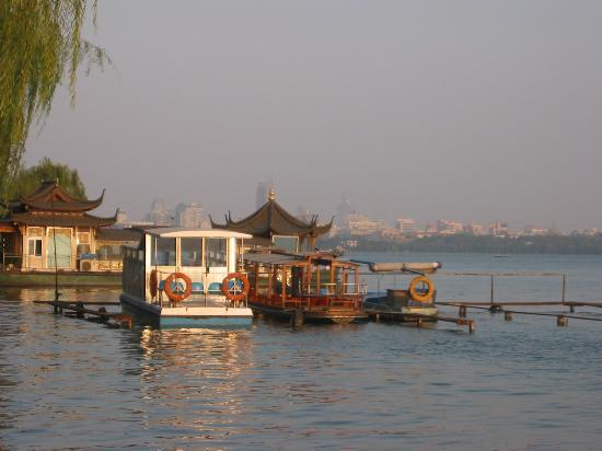 Hangzhou, China: Utility Boats