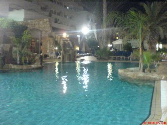 Paralimni, Cyprus: The hotel pool